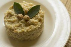 Risotto Castelmagno e nocciole