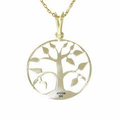 Un cadou deosebit pentru o persoane optimista! Aur, Gold Necklace, Jewels, Gold Pendant Necklace, Jewerly, Gemstones, Fine Jewelry, Gem, Jewelery