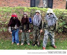Duck Dynasty… Halloween 2013? lol