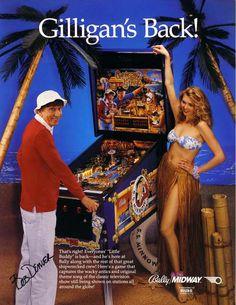 Gilligan Pinball Machine from Bally