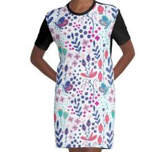T-Shirt Kleid Short Sleeve Dresses, Dresses With Sleeves, People, Illustration, Shopping, Fashion, Modern Patterns, Gowns, Moda