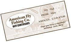 AmericanFly.com: Gift Certificate