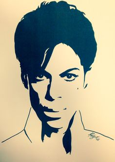"My PRINCE's drawing - Rudy Giorgio Panizzi - book ""PRINCE. A volte nevica in aprile"""