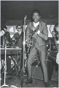 "rockincountryblues: "" Johnny ""Guitar"" Watson, 1960s. """
