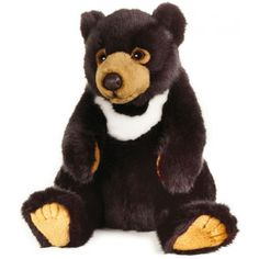 Peluche Oso Asiatico 26 cm National Geographic 3 años