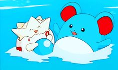 Togepi and Marill
