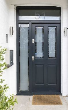 Front Doors — The London Joinery Co. Richmond Park, Cupboard Storage, Farrow Ball, Joinery, Shutters, Storage Spaces, Home And Family, Windows, Colours