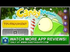 Candymeleon iPhone App - Candy Game - App Review #android #iphone #iusethisapp