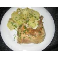 Receta de Muslos de pollo asados en microondas - Gallina Blanca