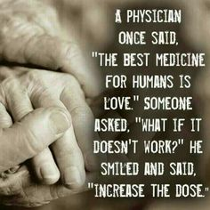 love is the remedy ...                                                                                                                                                                                 More