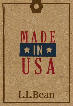 Menswear News - L.L.Bean to debut USA apparel collection - Fall 2012