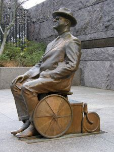 In Washington DC, FDR statue reminds us that this President had a disability, but hid it.  How far have we come from hiding disability to promoting accessibility? How much farther do we need to still go?  July 26, 2013 is the 23rd anniversary of the passage of the Americans with Disabilities Act.   #ADA #23rdAnniversary #ADAAnniversary roosevelt_statue Tech Crunch article from 20th anniversary: http://techcrunch.com/2010/07/23/ada-and-tech/