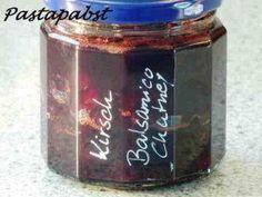 Kirsch-Balsamico-Chutney - Rezept