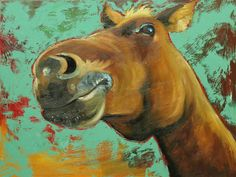 Compare Prices on Horse Portraits Paintings- Online Shopping/Buy ...