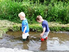 This muddy puddle is big, deep, pumpy and squelchy (language Josh and Harry used to describe).