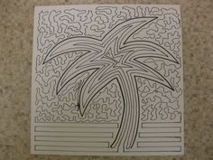 Katie Sturgill - Freshman - One Continuous Line Drawing - 2012-2013 - Introduction to Two Dimensional Art
