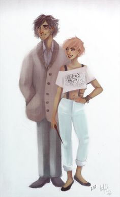 """""""Mr and Mrs Lupin by keytaro"""" I dont really ship them but this is too cute :3"""