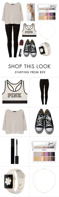 """Typical school day for me"" by sapnu2015 ❤ liked on Polyvore featuring Victoria's Secret, Dorothy Perkins, MANGO, Converse, Gucci, Sole Society and Herschel Supply Co."