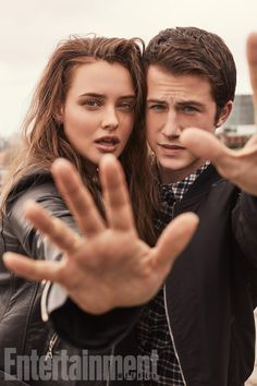 Katherine Langford and Dylan Minnette MY CUTIES