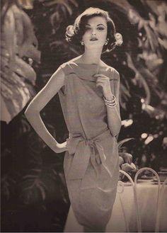 Vogue 1960 - Model Dolores Hawkin