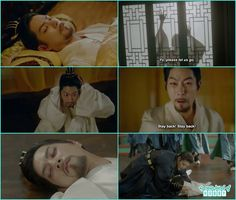 king wang yoo saw 10th prince and king moo in his dream and faint with a shock  - Moon Lovers Scarlet Heart Ryeo - Episode 17 (Eng Sub)