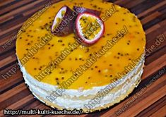 Maracuja Käse Sahne Torte, Rezept mit Bild, Einfach, Fruchtig erfrischend!, Obsttorte Torten Rezepte