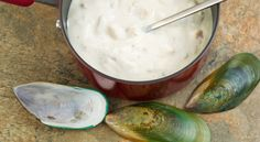 Quick Clam Chowder - will alter with almond milk sub