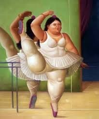 Credits : Fernando Botero paintings ballerina Plus size Art Fat curvy chubby ladies Dikke Dames Chef D Oeuvre, Oeuvre D'art, Pablo Picasso, Frida Diego, Plus Size Art, Plakat Design, Fat Art, Oil Painting Reproductions, Fat Women