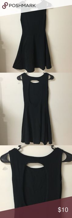 Brandy Melville Black Skater Dress Has some light piling and areas as pictured where the thread on the seem is a little loose. Other than that good condition Brandy Melville Dresses
