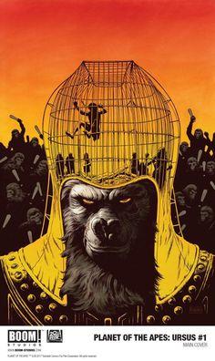 Planeta dos Macacos: BOOM! Studios celebra 50 anos da franquia