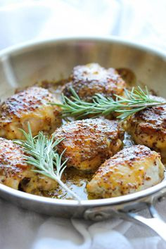 Baked Honey Mustard Chicken - Damn Delicious