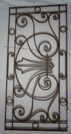 Wrought Iron Ornate Gates/Fences 4 - Click Image to Close