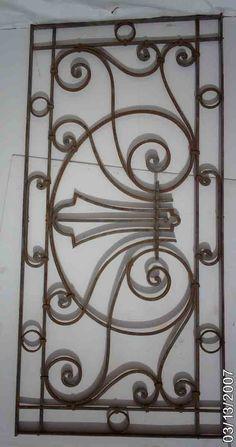 Wrought Iron Ornate Gates/Fences 4 - Click Image to Close