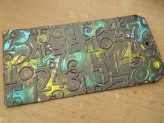 Frilly and Funkie: Saturday StepxStep: Metal Embossed Tags