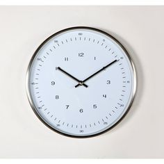 Contemporary Modern Verichron Simple Clock