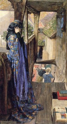 Eleanor Fortescue-Brickdale, The Ugly Princess, 1902