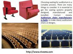 Contact Niveeta Auditorium Chairs Manufacturers In Delhi To Make Classic Or Designs AUDITORIUM CHAIRSOffice Furniture