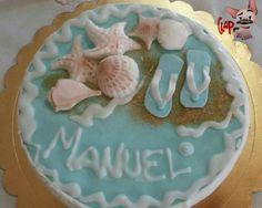 """Torta compleanno """"mare"""""""