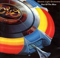 Electric Light Orchestra – Out Of The Blue (1977)  This ELO cover art is classic and unforgettable.