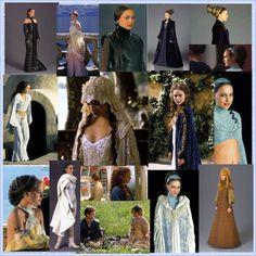 """Padme Amidala's Outfits Episode II"""