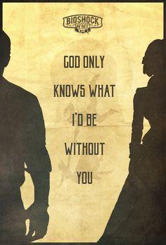 God Only Knows - Bioshock Infinite Poster by Edwin Julian Moran II