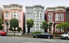 Classic San Francisco:  Bush Street-Cottage Row Historic District