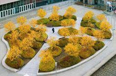 Design Hub - блог о дизайне интерьера и архитектуре: Парк на крыше парковки