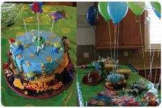 Toy Story Party: The Cake & Table
