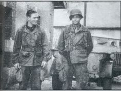 10 WWII Heroes: Richard Winters ~ Easy Company / Band of Brothers - Picture of Winters and Nixon