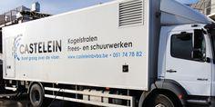 Castelein - Huisstijl realisatie - Communicatie en reclamebureau 2design Roeselare - Grafisch ontwerp, webdesign en apps - Huisstijl - belettering voertuig