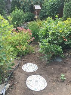 Stepping stones diy, Stone landscaping, Garden stepping stones, Backyard landscaping, Stepping stones, Garden pavers - Awesome tutorial to create your own DIY stepping stones! Make one each year with - #Steppingstones #diy Stepping Stones Kids, Homemade Stepping Stones, Stepping Stone Pathway, Concrete Stepping Stones, Backyard Walkway, Garden Pavers, Garden Stones, Stone Landscaping, Front Yard Landscaping