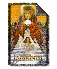 Look at this Labyrinth Fringe Woven Throw on #zulily today!