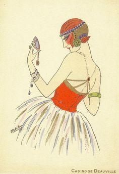 Art Deco Vanity ~ Mado Sar, 1921