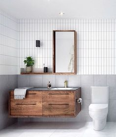 Bathroom Vanity Ideas -Find the ideal vanity and mirror for your bathroom. Whether you're searching for a traditional, vintage, #bathroomideas small, single, DIY on a budget or modern look   Bathroom vanities Bathroom Niche, Diy Bathroom Vanity, Bathroom Renos, Bathroom Renovations, Small Bathroom, Master Bathroom, Modern Bathroom Mirrors, Bathroom Mirror Cabinet, Bathroom Makeovers